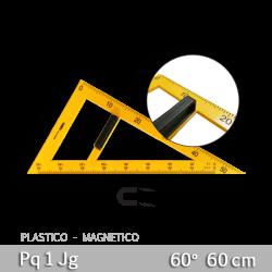 Escuadra para Pizarron 60o