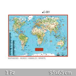 Mapa Una-Faz Mapamundi