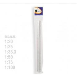 Escalimetro 1:20-25-33 3-50-75-100