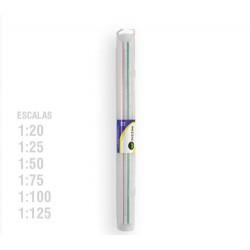 Escalimetro 1:20-25-50-75-100-125