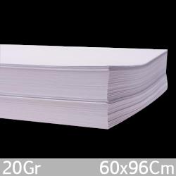 Papel Bond 20 66x96 500 Hojas