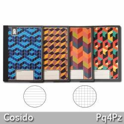 Cuaderno Cosido 1 Linea 80 Hojas