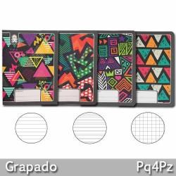 Cuaderno Grapado 1 Linea 60 Hojas