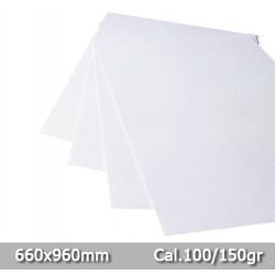 Cartulina Bristol 150 Gr Blanco tipo Opalina